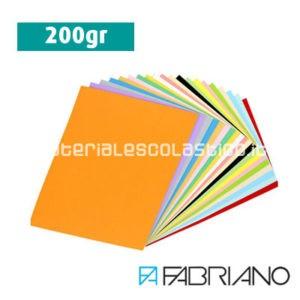 Cartoncino bristol liscio 200gr FABRIANO