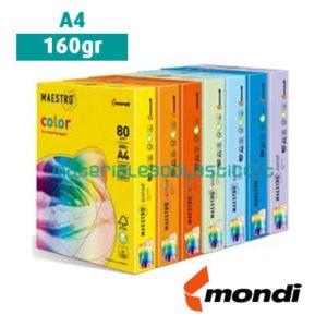 Risma carta colorata A4 160gr MAESTRO COLOR
