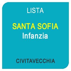 """Online la lista """"SANTA SOFIA"""" Scuola dell'Infanzia – CIVITAVECCHIA (RM)"""