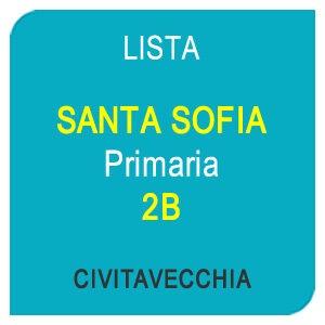 Lista SANTA SOFIA Primaria 2B - Civitavecchia (RM)