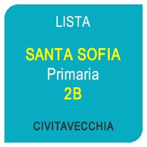 """Online la lista """"SANTA SOFIA"""" Scuola Primaria 2B – CIVITAVECCHIA (RM)"""