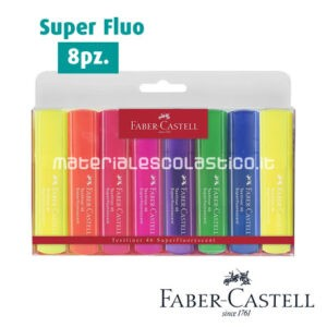 Evidenziatori Textliner 46 Super Fluo FABER CASTELL
