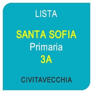 Lista SANTA SOFIA Primaria 3A - Civitavecchia RM