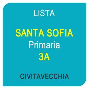"""Online la lista """"SANTA SOFIA"""" Scuola Primaria 3A – CIVITAVECCHIA (RM)"""