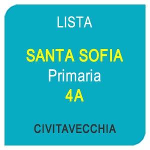 Lista SANTA SOFIA Primaria 4A - Civitavecchia RM