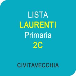 """Online la lista """"LAURENTI"""" Scuola Primaria Classe 2C – CIVITAVECCHIA (RM)"""